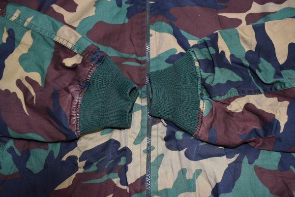☆古着 韓国軍 迷彩 ブルゾン ミリタリー カモフラ 韓国オルチャンファッション BTS【S相当】     ◆2804◆_画像7