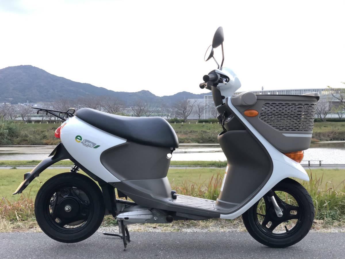「イーレッツ e-Let's 電動スクーター 充電器付き 福岡より」の画像2