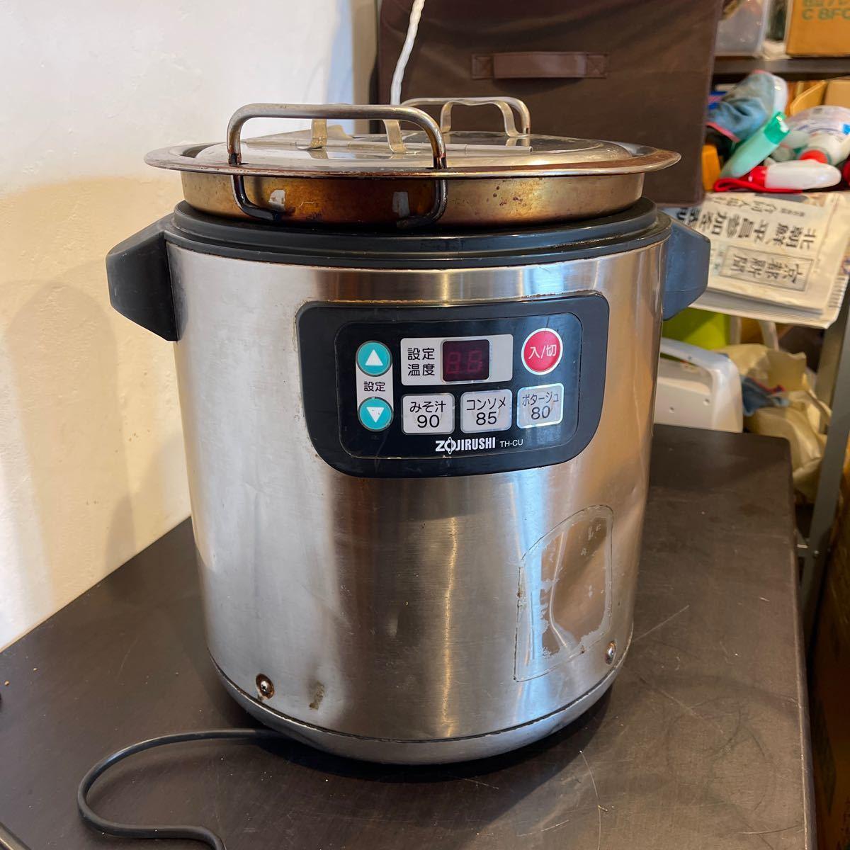 象印 マイコンスープジャー TH-CU080 8.0L 厨房 店舗 業務用 ZOJIRUSHI 2013年製_画像1
