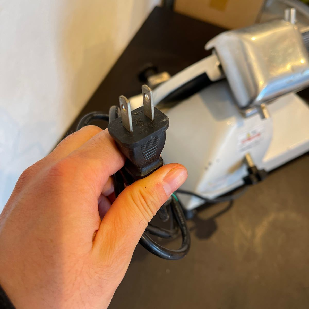ミートスライサー 業務用 ハムスライサー フッ素樹脂コーティング チャーシュー 電動 肉スライサー PRO-220YS-BT-R KIPROSTAR_画像10