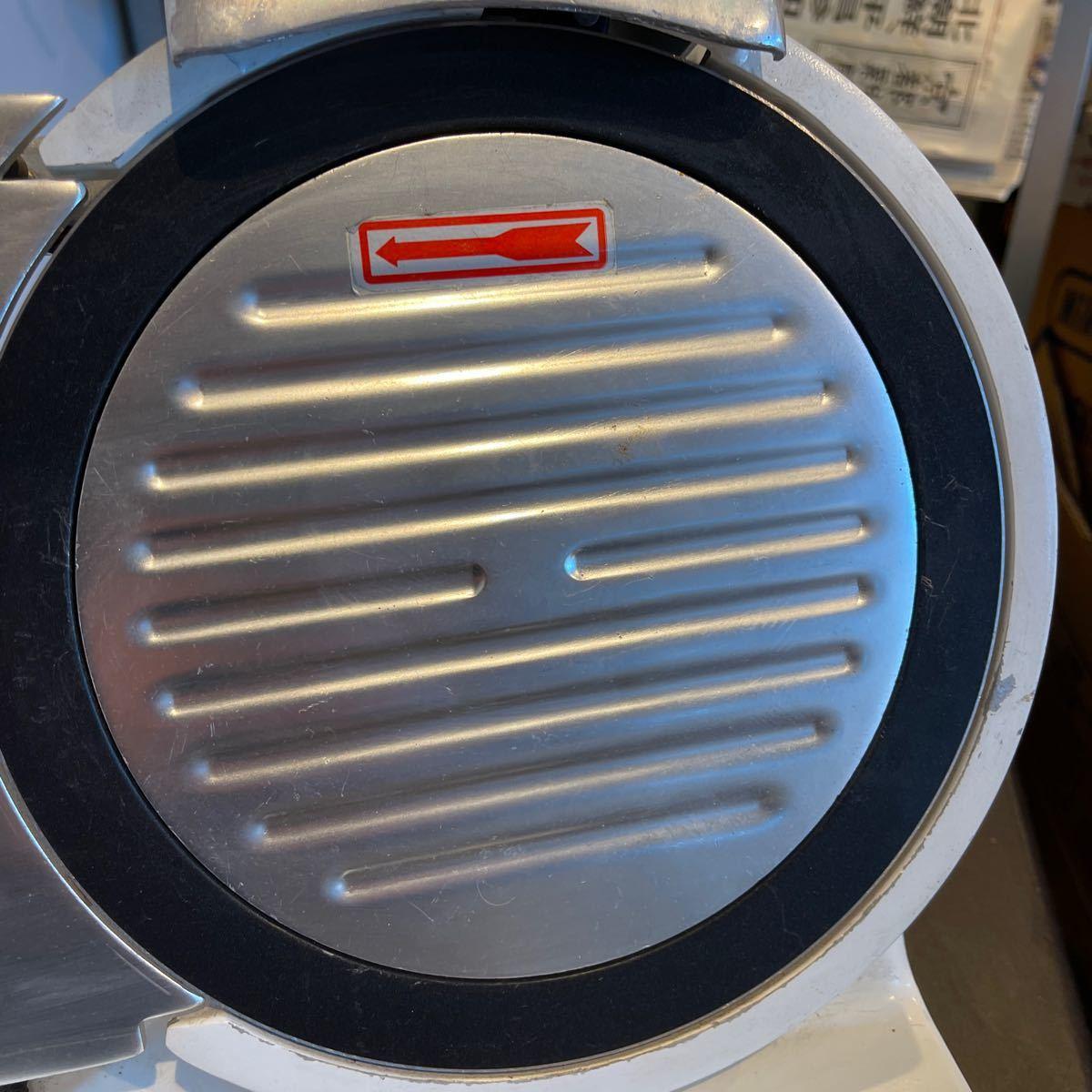 ミートスライサー 業務用 ハムスライサー フッ素樹脂コーティング チャーシュー 電動 肉スライサー PRO-220YS-BT-R KIPROSTAR_画像4