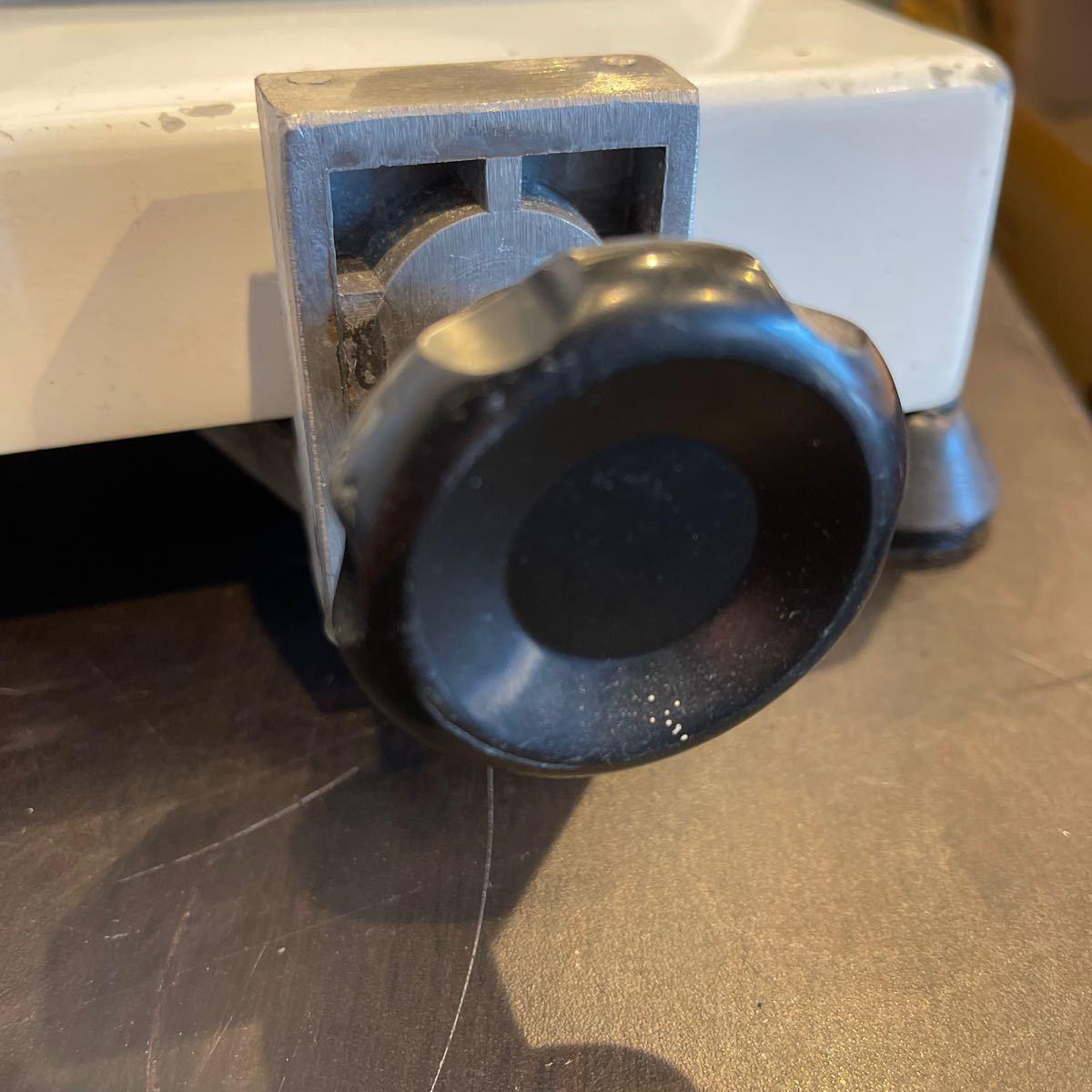 ミートスライサー 業務用 ハムスライサー フッ素樹脂コーティング チャーシュー 電動 肉スライサー PRO-220YS-BT-R KIPROSTAR_画像3