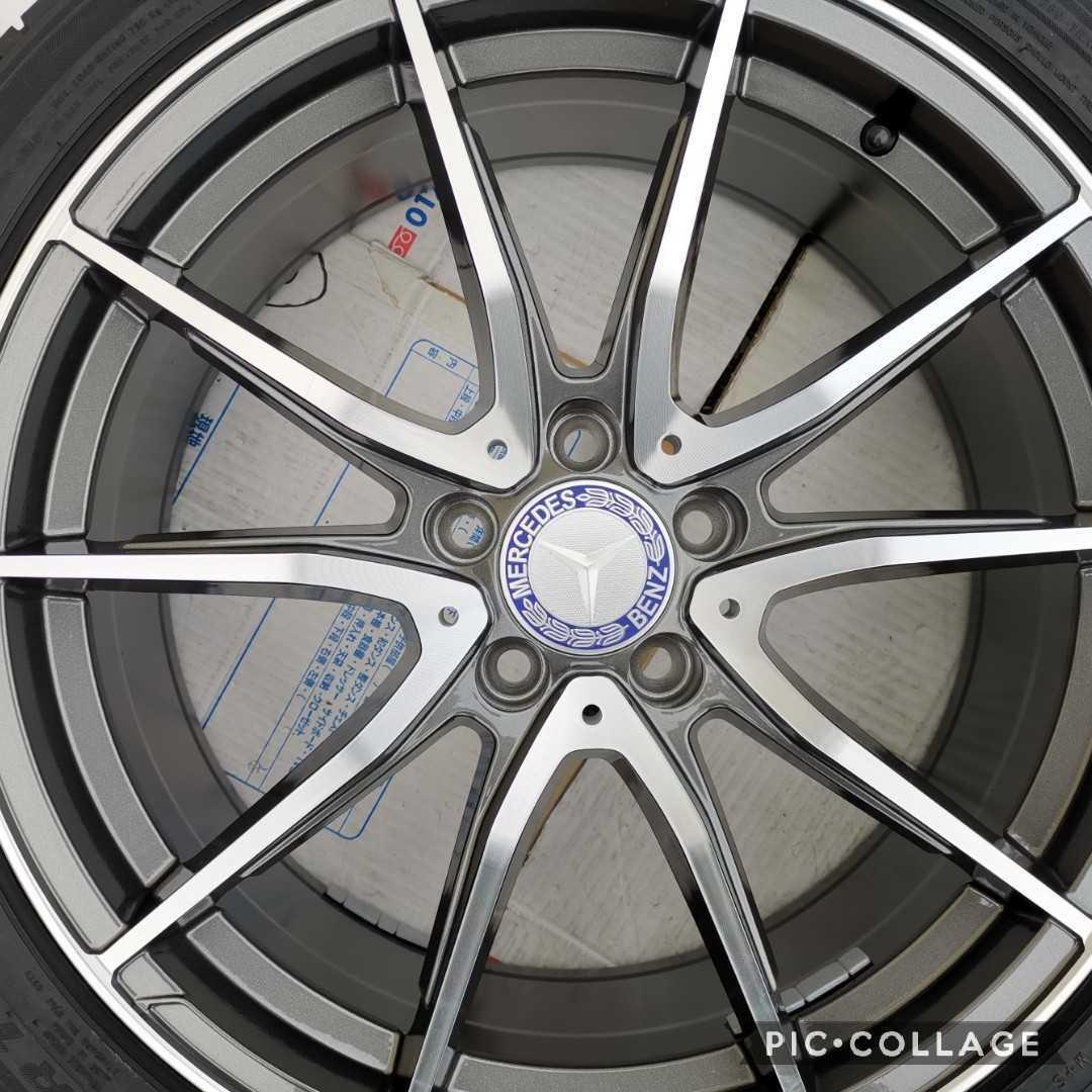 新品 メルセデス・ベンツ Eクラス W212 5015 19インチホイールとタイヤ付き4本セット245/35R19 275/30R19_画像9