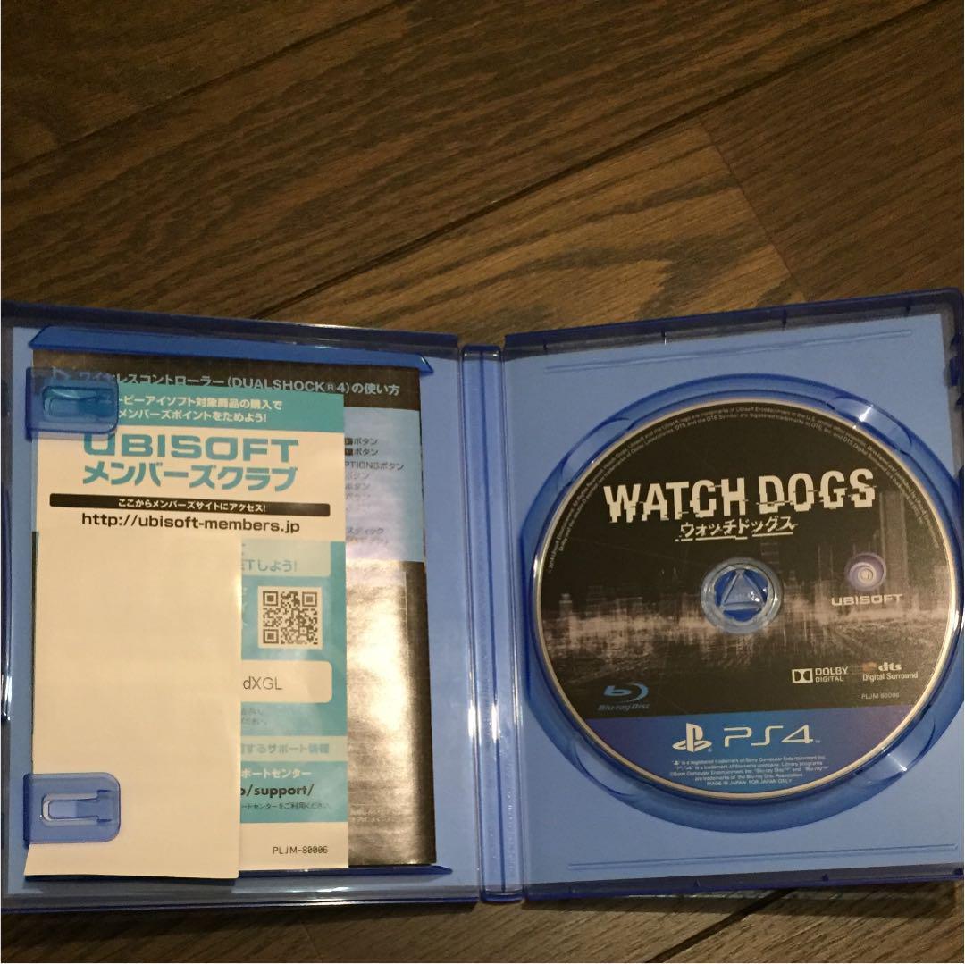 PS4 Watch dogs ウォッチドッグス