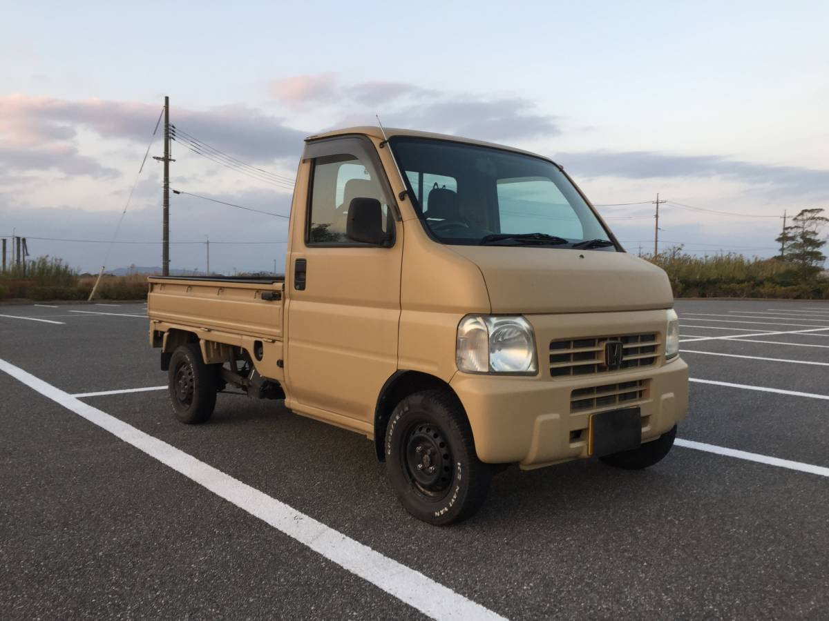 「ホンダ アクティトラック 4WD 5MT 」の画像1