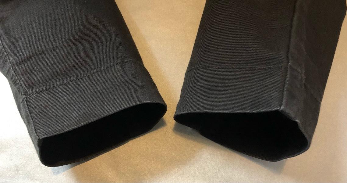 即決 Lee LEESURES リー スリムパンツ 綿パンツ チノパン ワークパンツ Sサイズ ウエスト約74cm W29相当_画像6