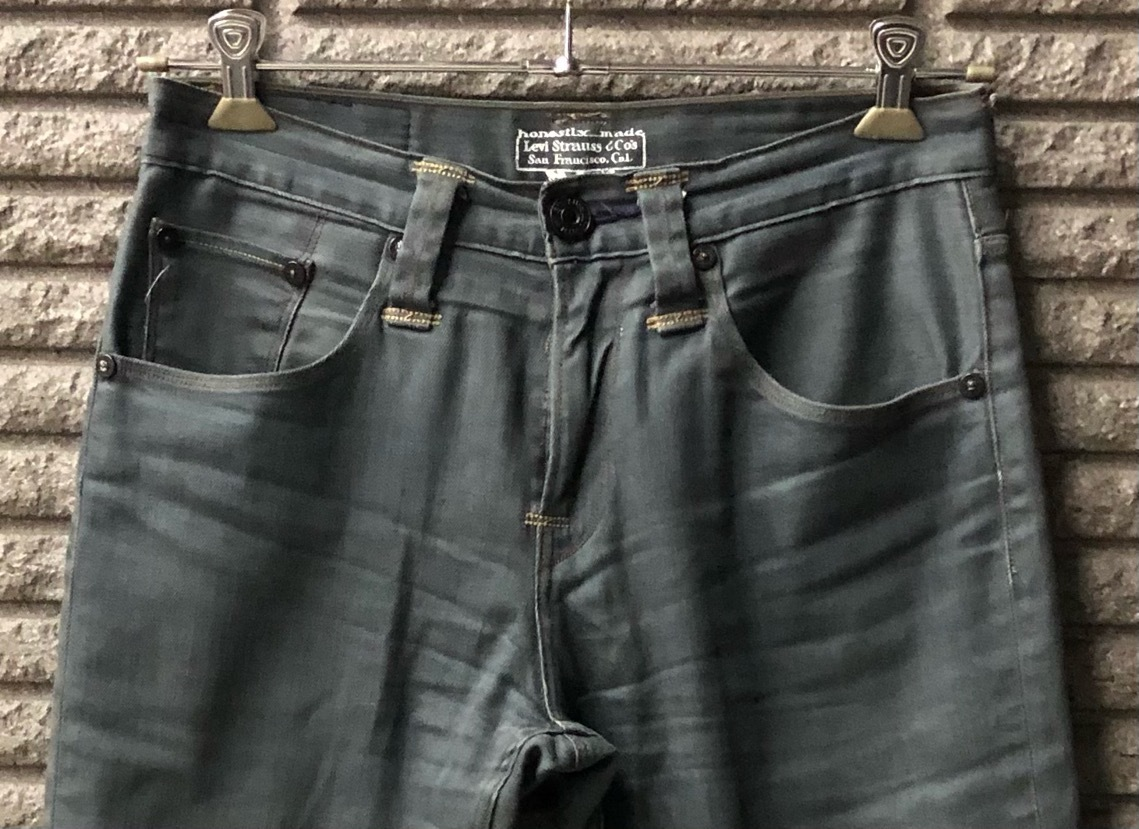 即決 Levi's リーバイス ストレッチパンツ コットンパンツ メンズ W30 ウエスト約80cm Mサイズ相当_画像4