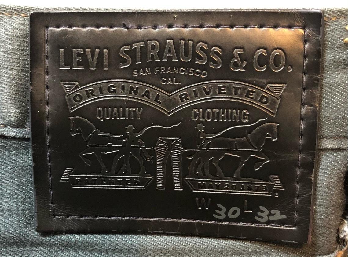 即決 Levi's リーバイス ストレッチパンツ コットンパンツ メンズ W30 ウエスト約80cm Mサイズ相当_画像8