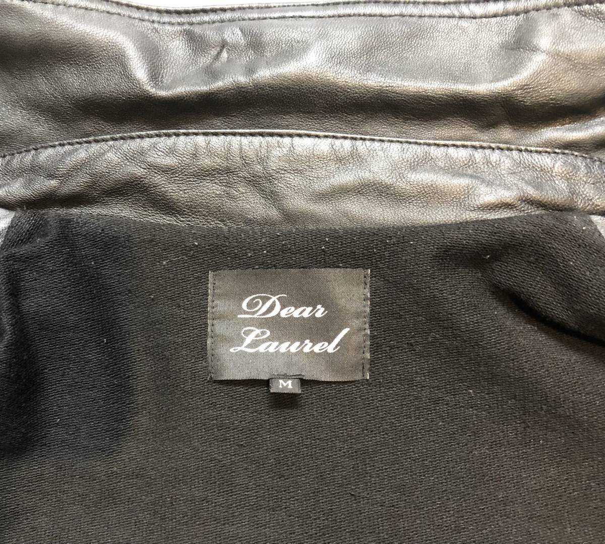 即決 羊革 レザージャケット 革ジャン ライダースジャケット Mサイズ メンズ_画像8