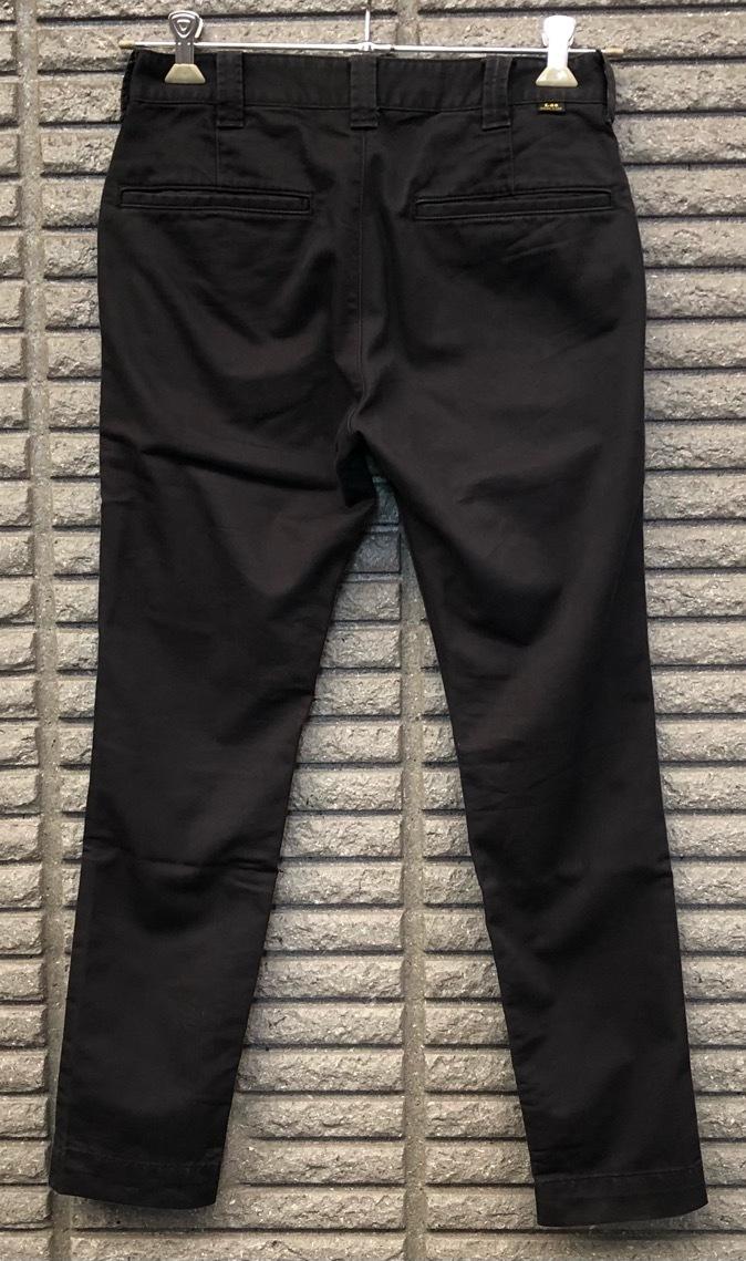 即決 Lee LEESURES リー スリムパンツ 綿パンツ チノパン ワークパンツ Sサイズ ウエスト約74cm W29相当_画像2