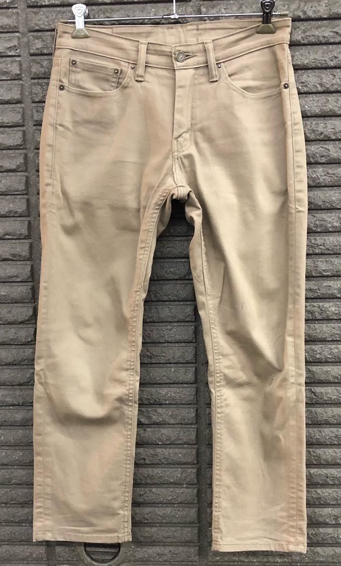即決 Levi's 511 リーバイス ストレッチパンツ コットンパンツ メンズ W31 ウエスト約81cm Mサイズ相当 ジーンズ ジーパン_画像1