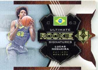 LUCAS NOGUEIRA(ラプターズ、ブラジル代表)13-14 Ultimate collection 見開き直筆サインカード(直書き)_画像1