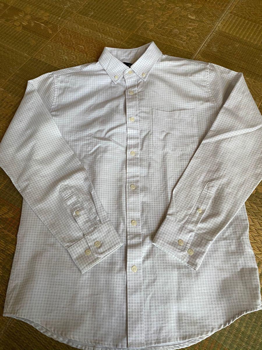 長袖シャツ ボタンダウンシャツ ロングシャツ