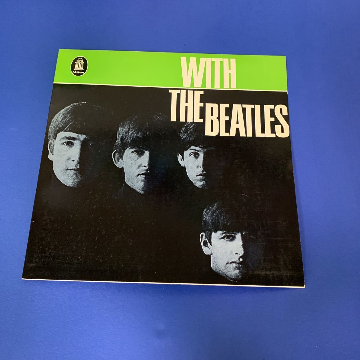 BEATLES (ドイツ盤) ODEAN 【希少】●WITH THE BEATLES_画像1