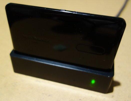 【中古】Wi-Fi WALKER WiMAX 2+ NAD11 クレードル付き_画像2