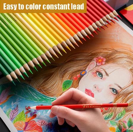 Z2277 160色 油性 色鉛筆セット 塗り絵 イラスト アート スケッチ_画像2