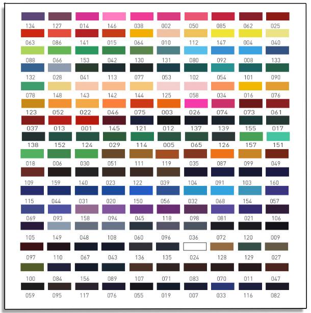 Z2277 160色 油性 色鉛筆セット 塗り絵 イラスト アート スケッチ_画像7