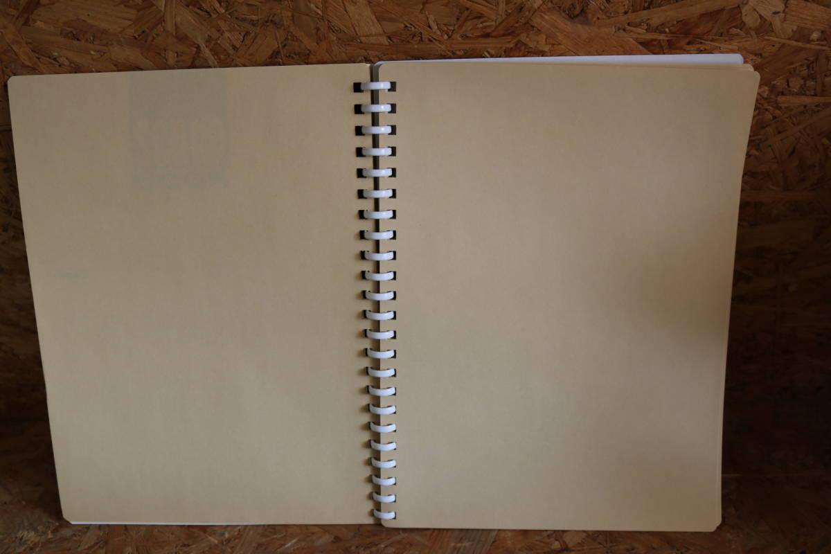 KOKUYO コクヨ ファイル スクラップブック B 替紙式 A4 青 ラ-20BZ 10冊セット 即決価格_画像4