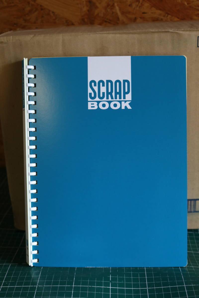 KOKUYO コクヨ ファイル スクラップブック B 替紙式 A4 青 ラ-20BZ 20冊セット 即決価格_画像1
