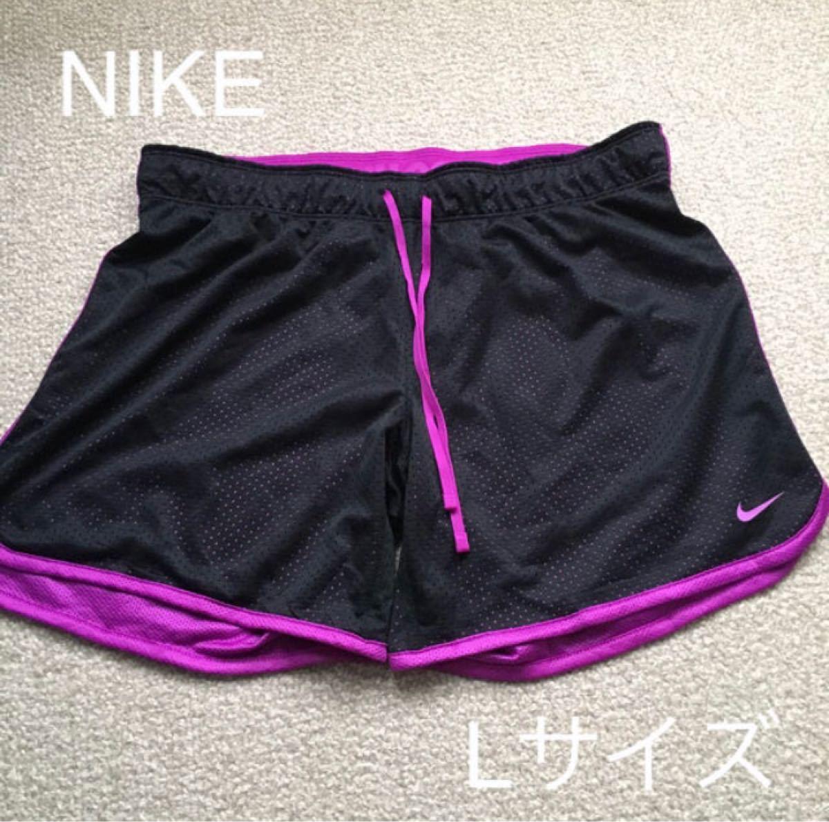 【美品】NIKE:ランニングパンツ ショートパンツL