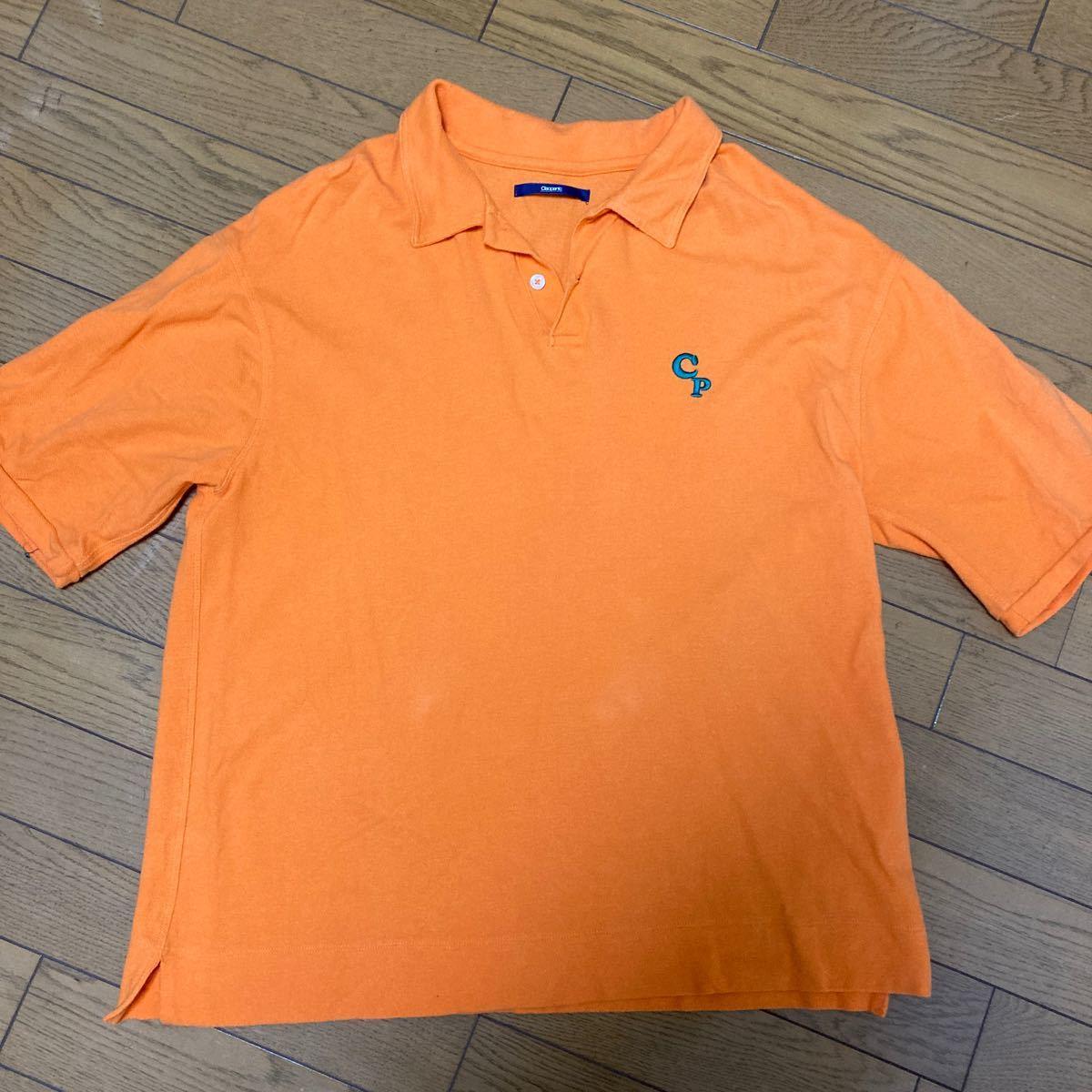 ポロシャツ オレンジ  ポロシャツ POLO