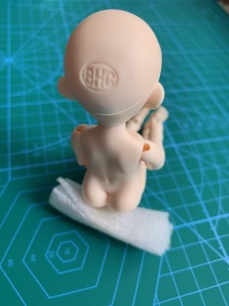 新品◆BHC◆My Sweet Heart Doll◆Resin Doll(樹脂素材) ◆nude doll with makeup & eye balls◆人形本体 NO.5_サンプルです。