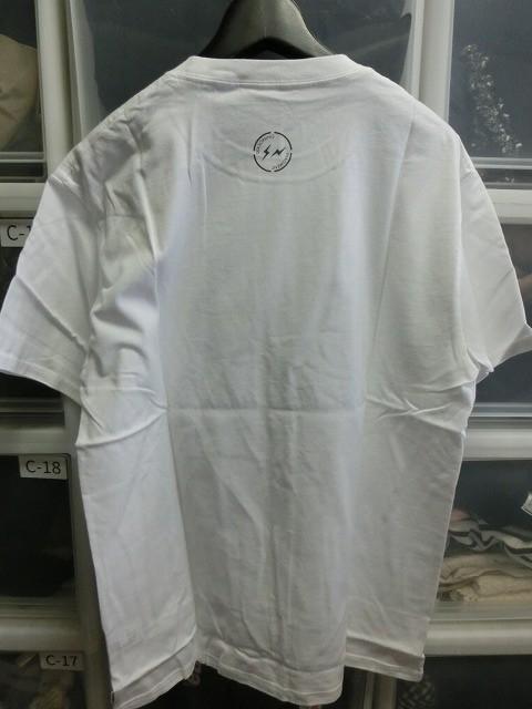 SEASONING x Fragment THE FRAGMENTS Tシャツ 3 ホワイト #SE18S-FCT01 シーズニング フラグメント_画像2