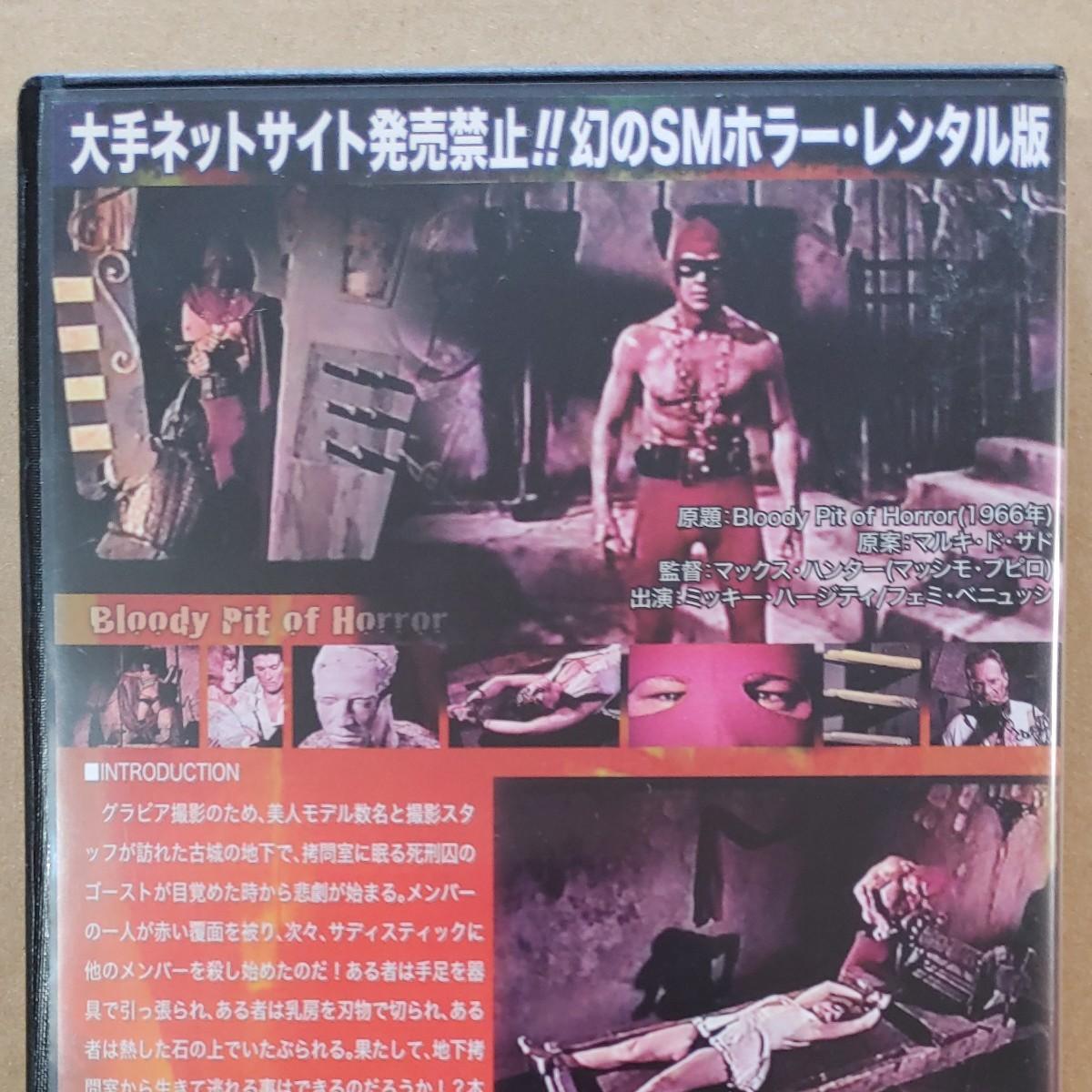 DVD 美人モデル 惨殺の古城 レンタル版