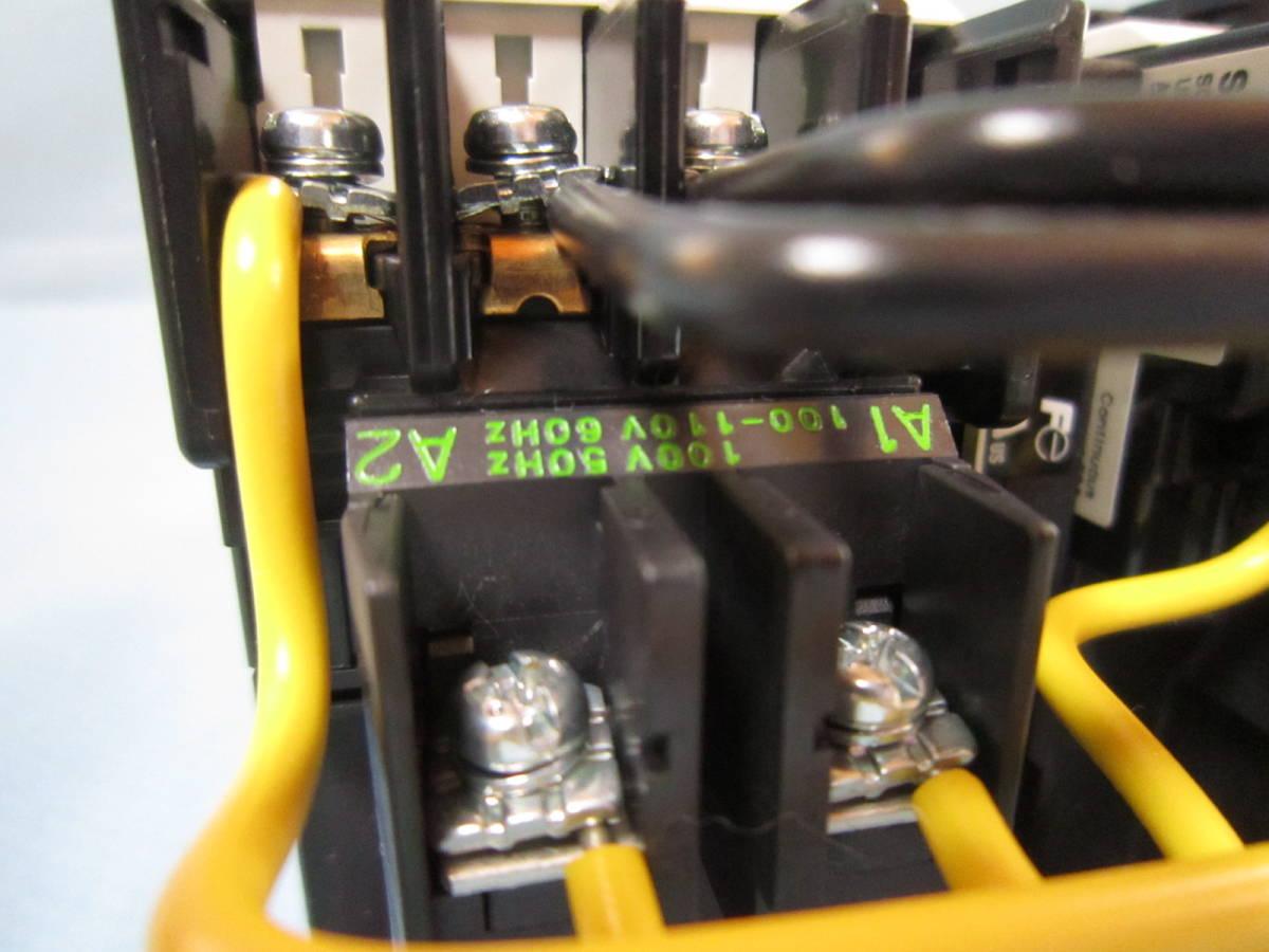 富士電機 電磁接触器 SW-03RM マグネットスイッチ SC-03(11) TK-0N/SZ-RM 100V-110V *2個_画像7