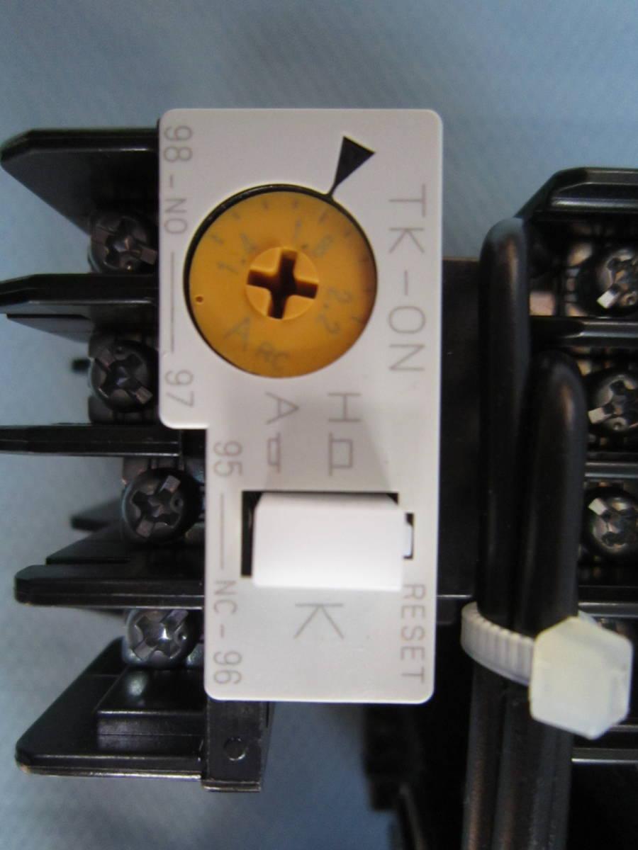 富士電機 電磁接触器 SW-03RM マグネットスイッチ SC-03(11) TK-0N/SZ-RM 100V-110V *2個_画像3