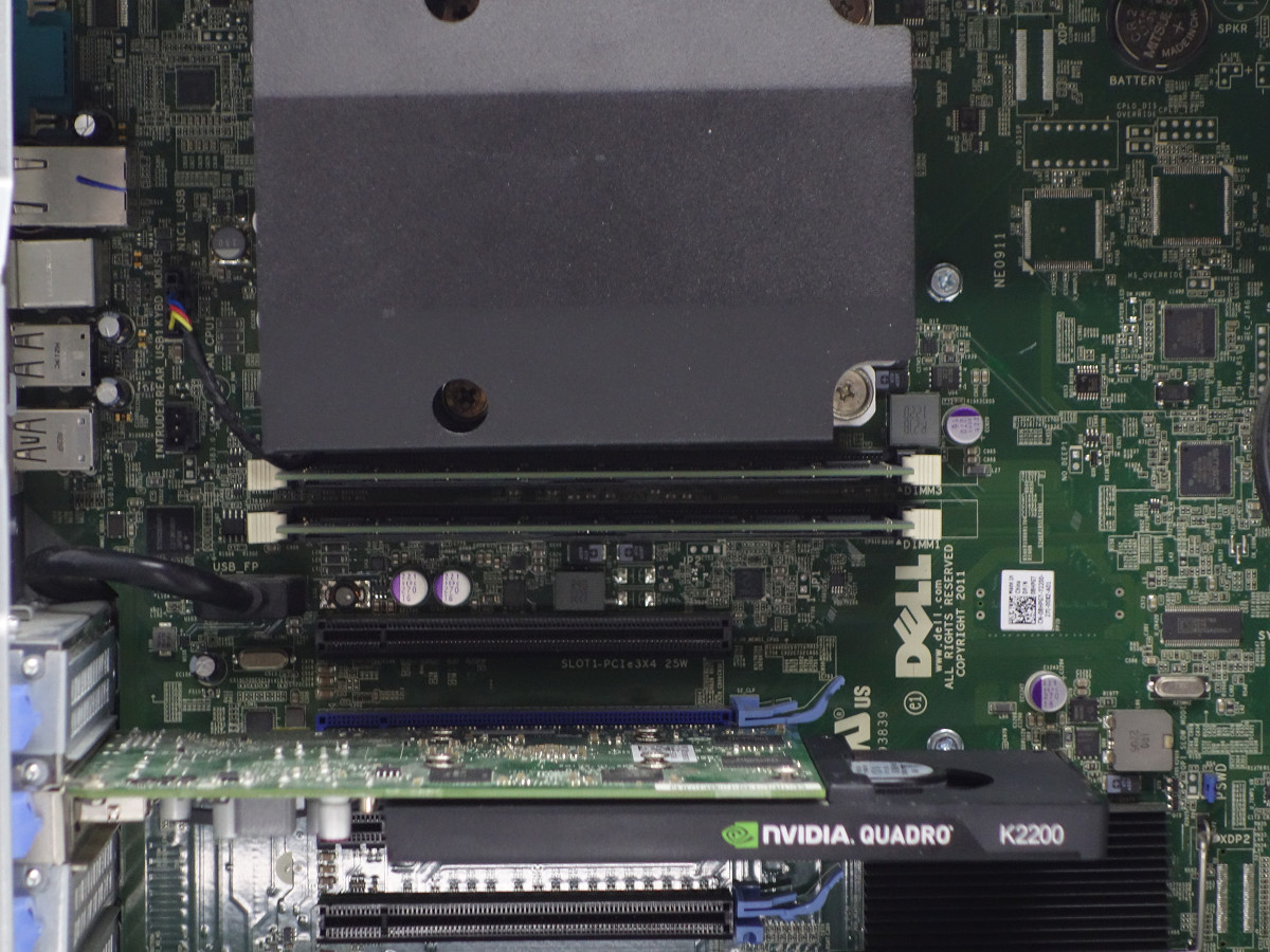 DELL Precision T3600 Xeon E5-1650(6コア・12スレッド)/大容量32GBメモリ/Quadro K2200 4GB/SSD240GB+HDD1TB/Office/10 Pro【3978189】_画像5