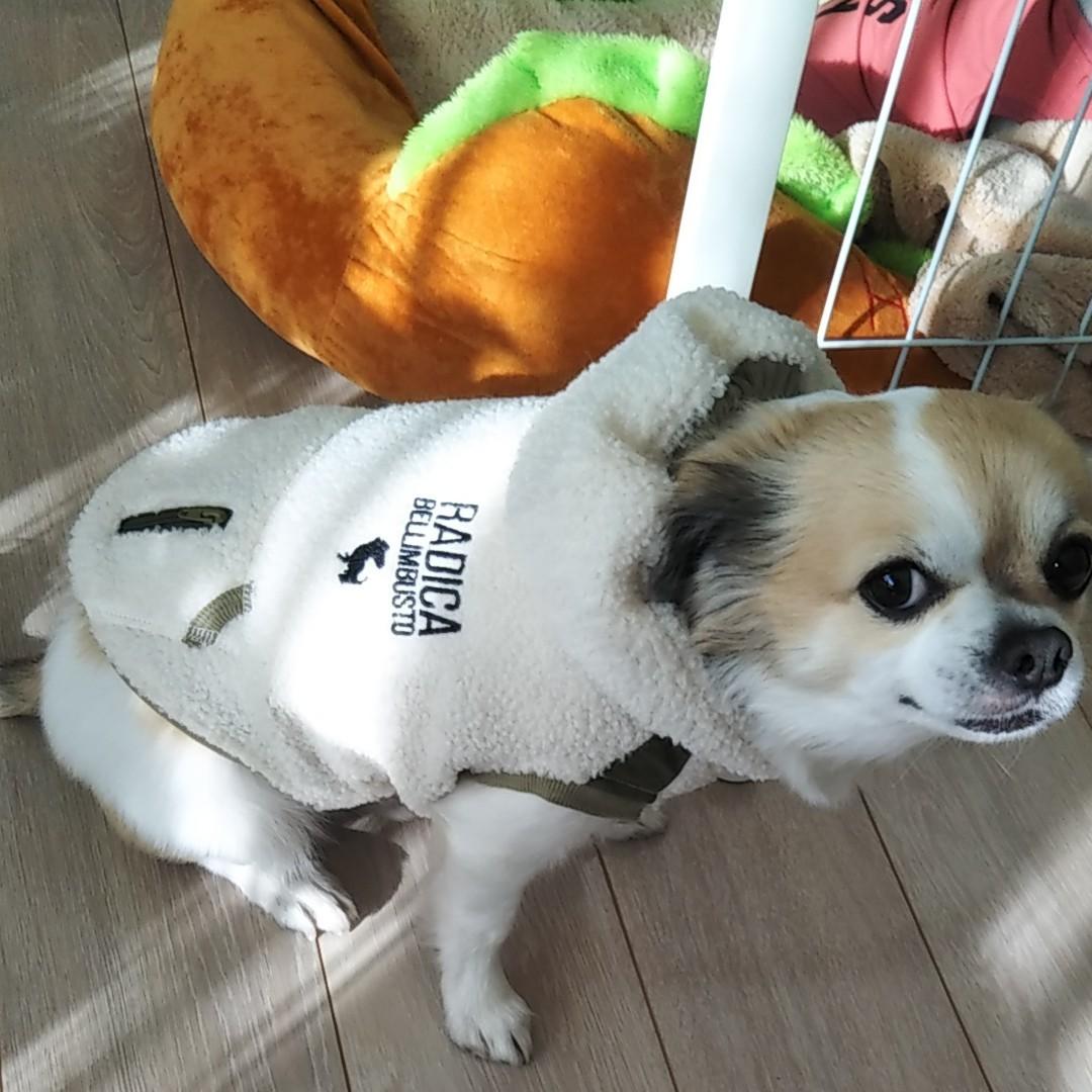 犬用服 RADICA ボアコートLL