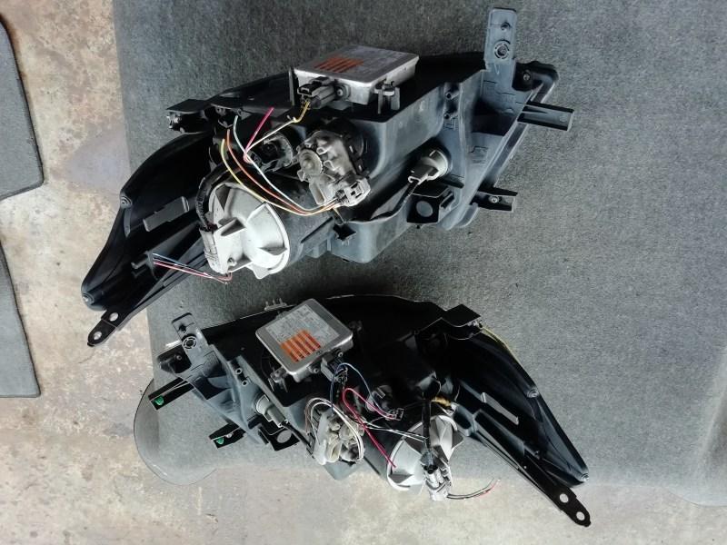 H23 ワゴンRスティングレー MH23S HID ヘッドライト 左右 セット 100-59191_画像6