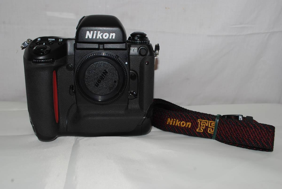 中古 現状品 Nikon 一眼レフカメラ ボディ F5 フィルムカメラ ニコン フイルム 通電確認のみ_画像1