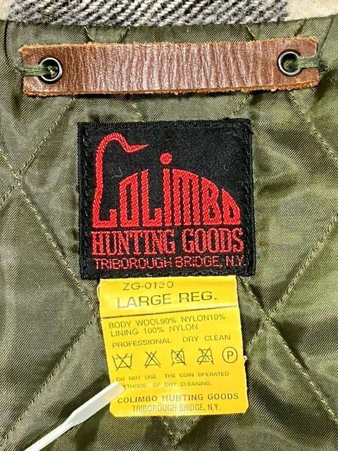 ★COLIMBO★コリンボ 初期 FORESTER COAT フォレスターコート ホワイト・ブラック sizeL/チェック_画像8