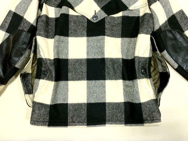 ★COLIMBO★コリンボ 初期 FORESTER COAT フォレスターコート ホワイト・ブラック sizeL/チェック_画像7