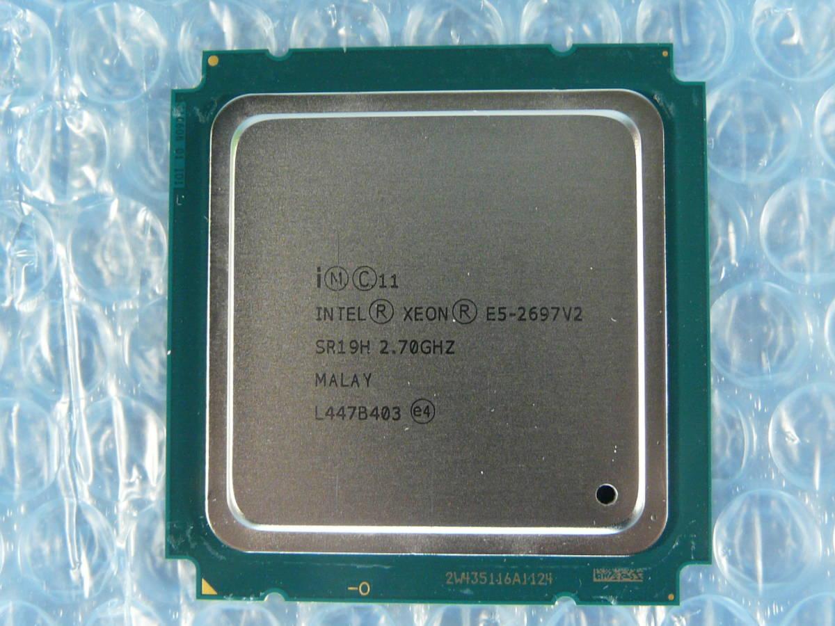 1JFH // Intel Xeon E5-2697 V2 2.7GHz SR19H Ivy Bridge-EP C1 Socket2011(LGA) MALAY // HP ProLiant DL360p Gen8 取外_画像1