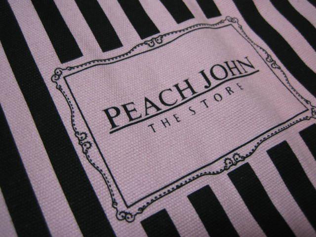 ■入手困難 ピーチジョン PJ キャンバストートバッグ 3点セット■_画像5