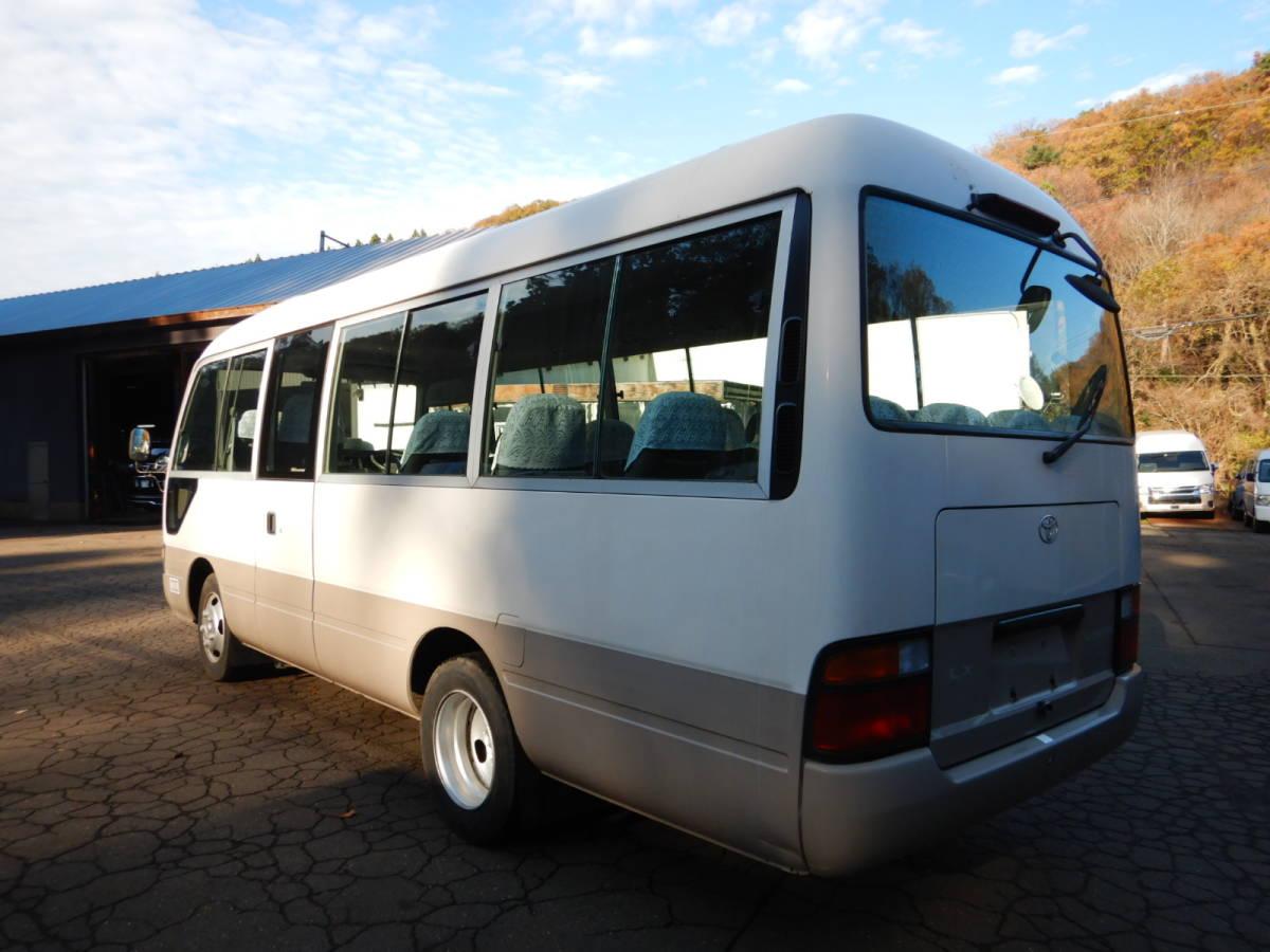「【CH16015】H10年 トヨタ コースター 実走行6千km台 マイクロバス 送迎バス 26人乗り 税込!」の画像3