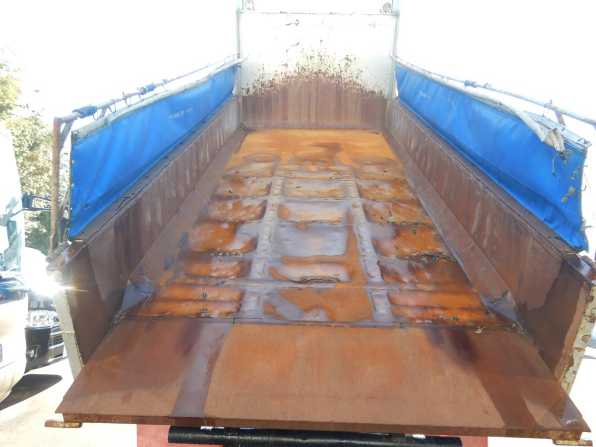 【CH15852】H23年 いすゞ ギガ ダンプ Lゲートダンプ 土砂ダンプ 走行40万km 7速MT 最大積載量8700kg ナンバー付 税込み!_画像5