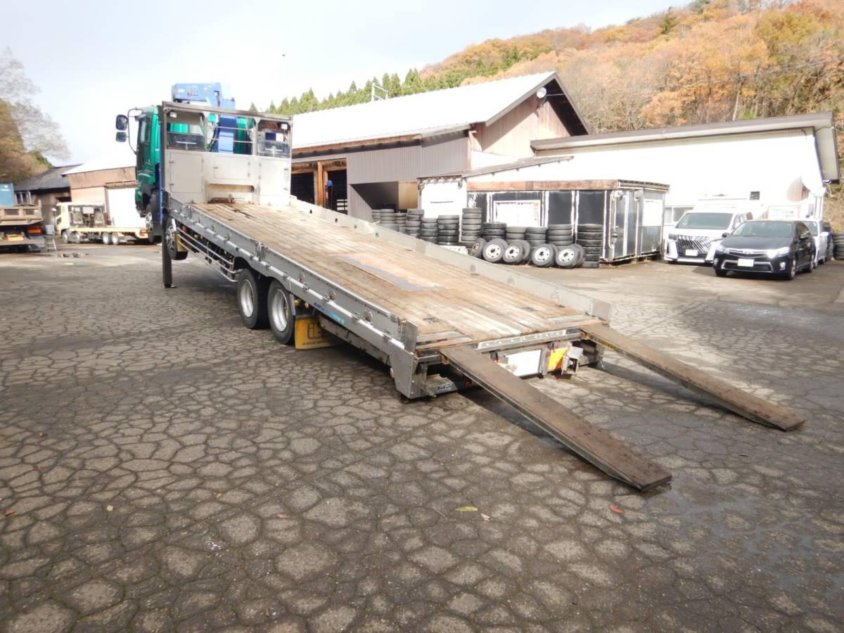「【CH15902】H22年 いすゞ ギガ アイバワークス タダノ4段セルフクレーンナンバー付 実走22.6万km台 ラジコン 積載量13200kg」の画像3