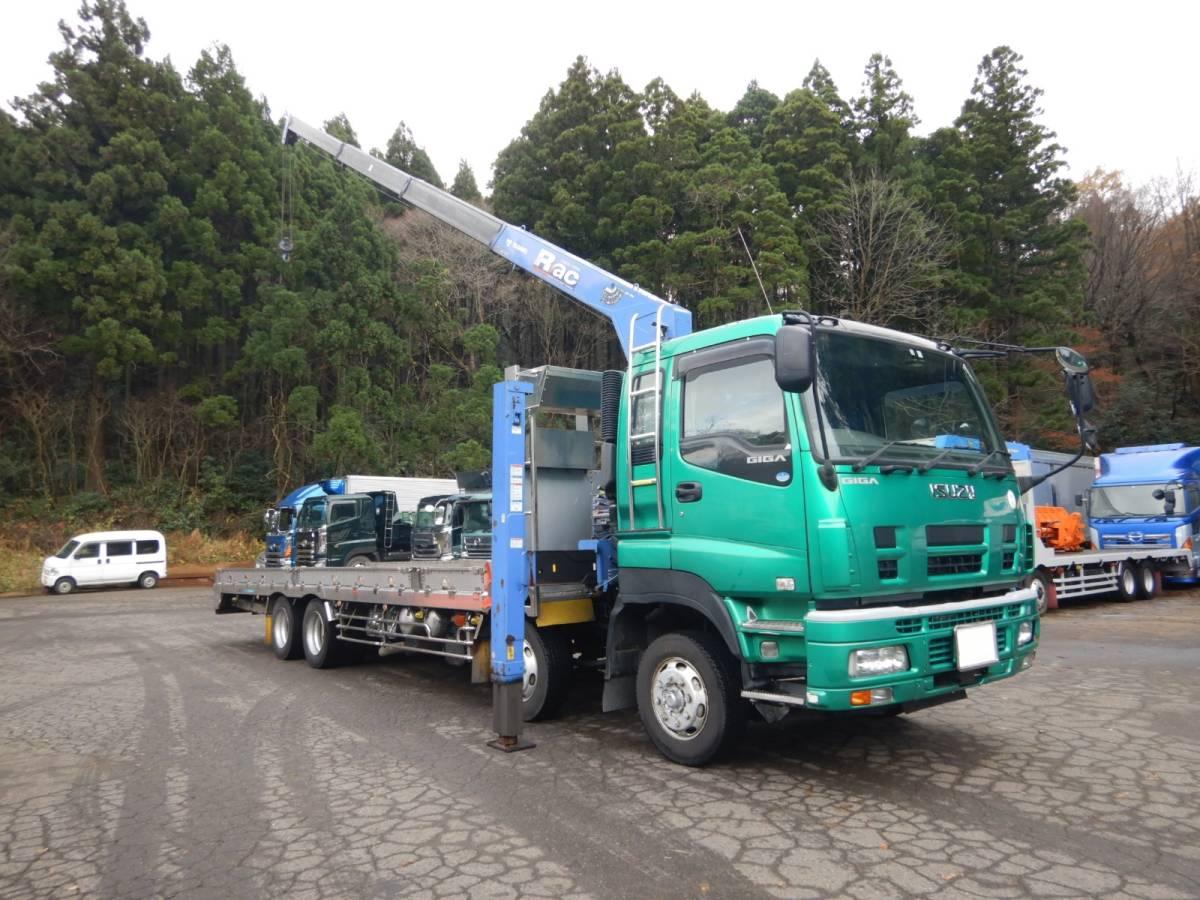 「【CH15902】H22年 いすゞ ギガ アイバワークス タダノ4段セルフクレーンナンバー付 実走22.6万km台 ラジコン 積載量13200kg」の画像2