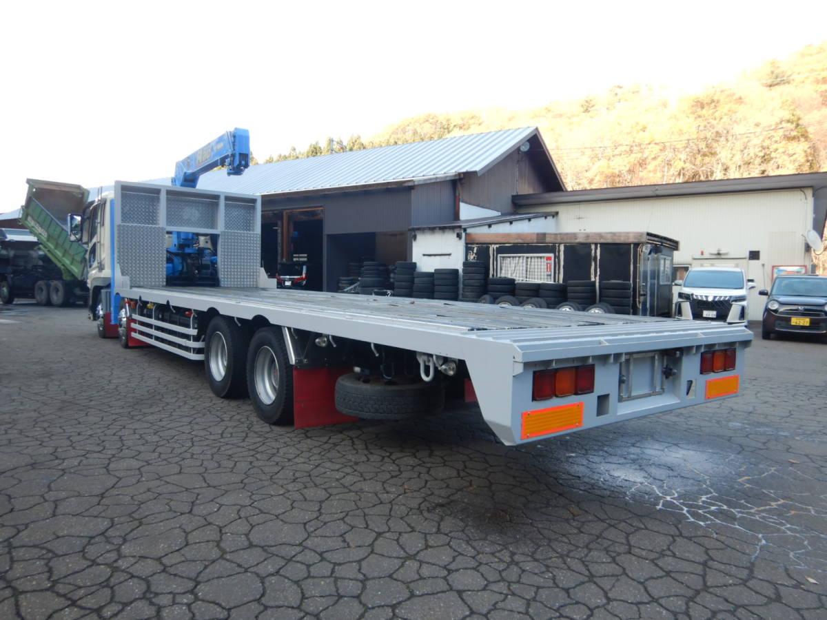 「【CH15461】予備検付 H17年 三菱 スーパーグレート タダノ3段セルフクレーン 新品ボデー セーフティローダー ラジコン&ウィンチ 7速MT」の画像3