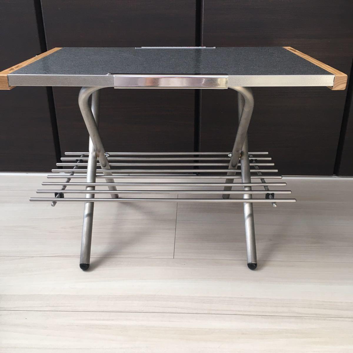焚き火テーブル用 ステンレス製ラック ユニフレーム たき火テーブル用 ラック UNIFLAME キャンプ ステンレスラック