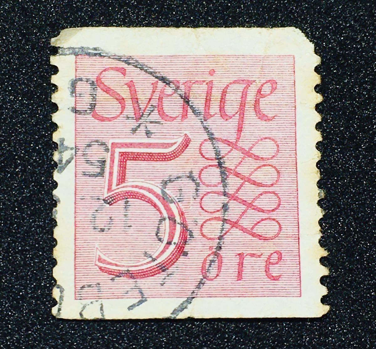 ◆ 古い 切手 海外 外国 スウェーデン ②⑥ アンティーク 骨董 ビンテージ 当時物 昭和レトロ 年代物 古物 郵便 戦前 戦後 国際 消印_画像1