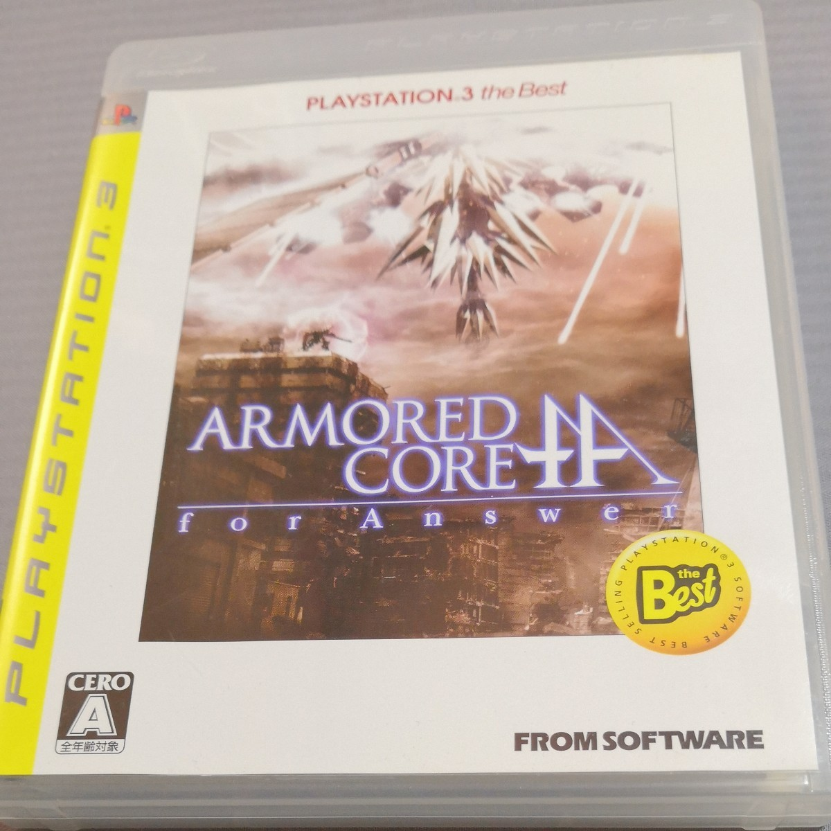 【PS3】 アーマード・コア フォーアンサー [PS3 the Best]