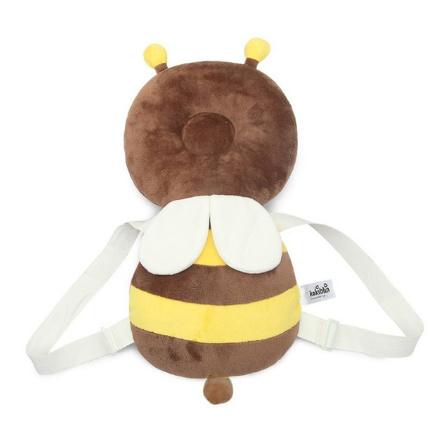 CC006:赤ちゃん 頭 子供 保護パッド 幼児 ヘッドレスト 枕 落下 1円スタート クッション バック マット リュック ガード 蜂 テントウムシ_デザイン2