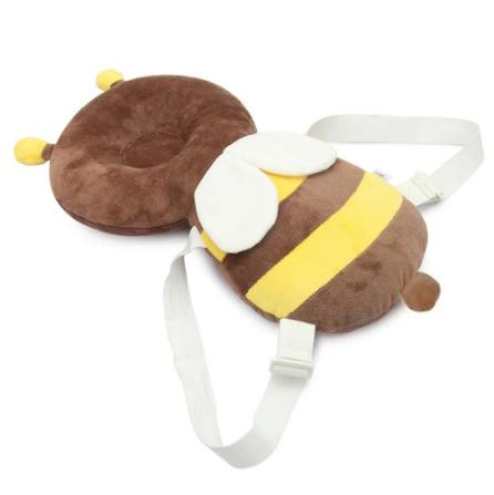 CC006:赤ちゃん 頭 子供 保護パッド 幼児 ヘッドレスト 枕 落下 1円スタート クッション バック マット リュック ガード 蜂 テントウムシ_画像3