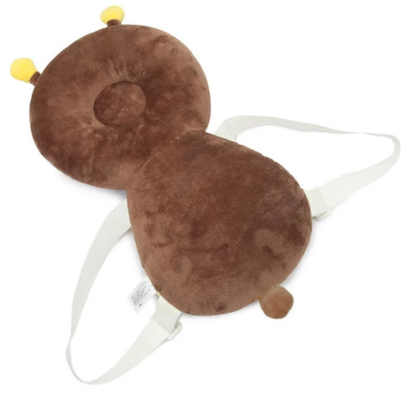 CC006:赤ちゃん 頭 子供 保護パッド 幼児 ヘッドレスト 枕 落下 1円スタート クッション バック マット リュック ガード 蜂 テントウムシ_画像5