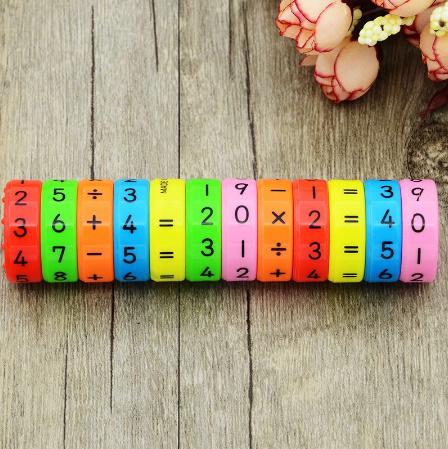 CC021:6ピース 磁気 モンテッソーリ キッズ 教育 プラスチック おもちゃ 子供 数学 番号 DIY 組み立て パズル 男の子 女の子 育脳 算数_画像4